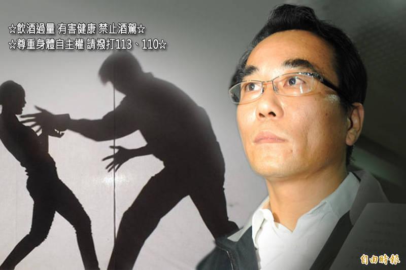 62歲前立法委員蔡豪(右)涉性侵助理,近期必須入獄4年10月。(資料照)