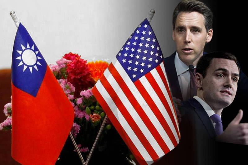 為確保美國具有阻止中國入侵台灣、造成既成事實的能力,美國參眾議員16日同步在參眾兩院重提「台灣防衛法案」。(本報合成)