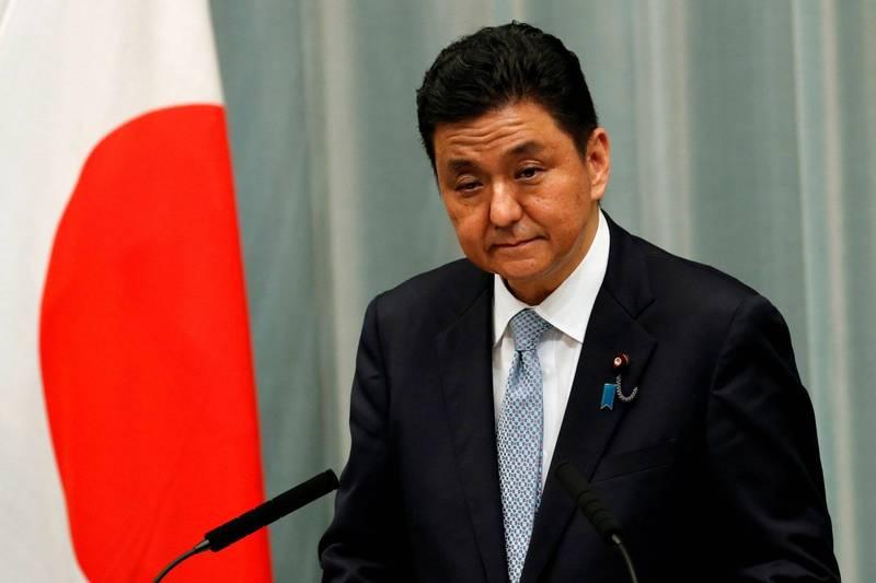 岸信夫指出,面對中國對台灣的軍事壓力升溫,台灣的情勢穩定對國際社會的安定也很重要。(路透)