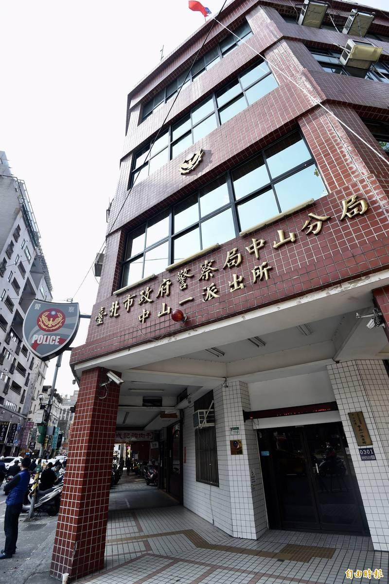台北市中山警分局中山一派出所前員警凃維廉,被控收賄包庇「嘉儷寶」系列色情酒店,台北地檢署上月被起訴,移審後仍續押禁見中。(資料照)