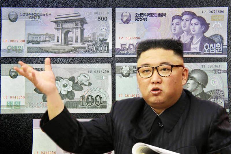聯合國數據17日顯示,北韓已向聯合國發起的緬甸人道主義救援計畫提供了30萬美元。(歐新社、法新社;本報合成)