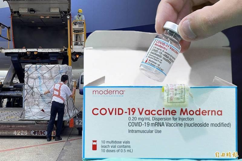 華航載運24萬劑莫德納疫苗,今飛越中國領空未繞路返台,預計下午4點抵達。(資料照,本報合成)