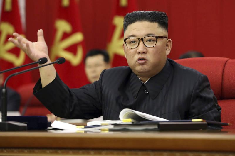 北韓領導人金正恩要求做好準備與美國對話及對抗。(美聯社)