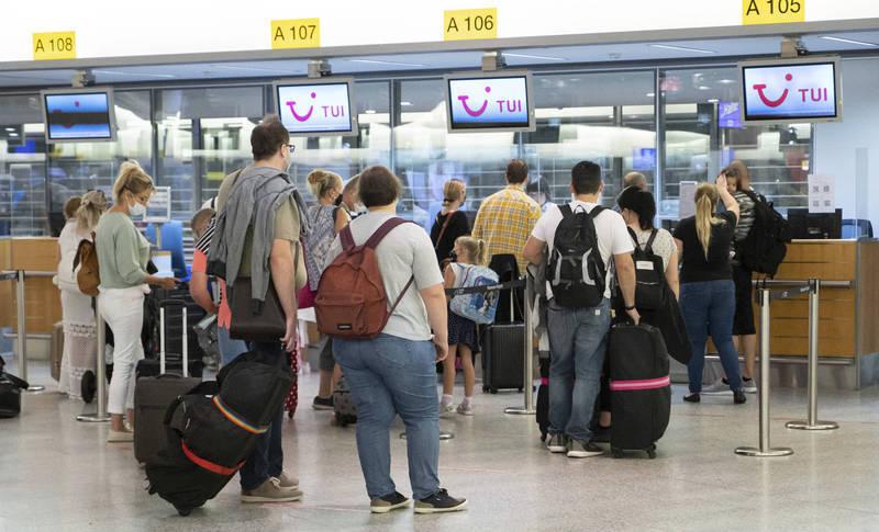 德國在台協會宣布,自6月20日起,德國取消所有先前由於漢肺炎疫情自台灣前往德國的入境限制!圖為德國漢諾威機場。(美聯社)
