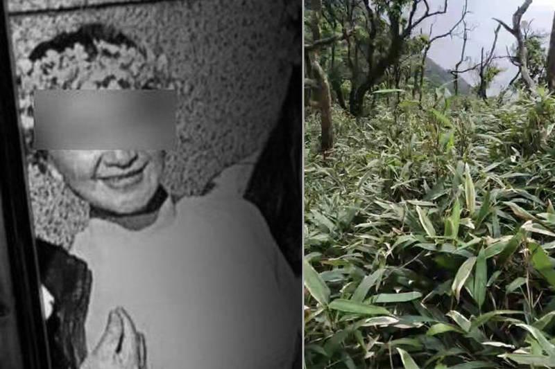 阮婦平時很熱衷參與農會活動,登抹茶山失蹤近3個月後終於尋獲遺體。(記者蔡昀容、林敬倫翻攝)