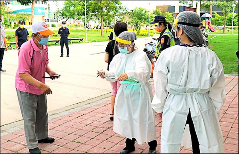 彰化縣府因應疫情防疫需要,計畫組織社區疫苗「接種醫護大隊」。(彰化縣府提供)