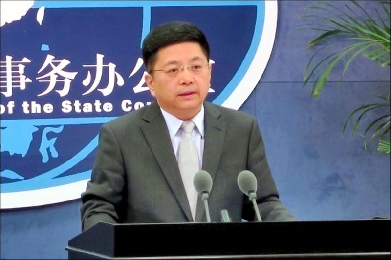 中國國台辦昨稱,上海復星醫藥集團有BNT疫苗在中國與港澳台的獨家商業權益,奉勸民進黨不要在疫苗問題上,繼續進行政治操弄。(中央社資料照)