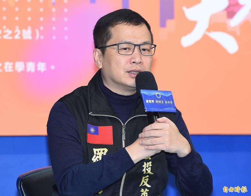羅智強今質疑,台灣染疫死亡者有黑數。(資料照)