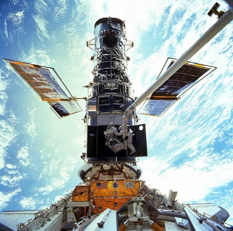 美國國家航空暨太空總署(NASA)表示,探索宇宙超過30年的哈伯太空望遠鏡過去幾天來故障當機。(美聯社)