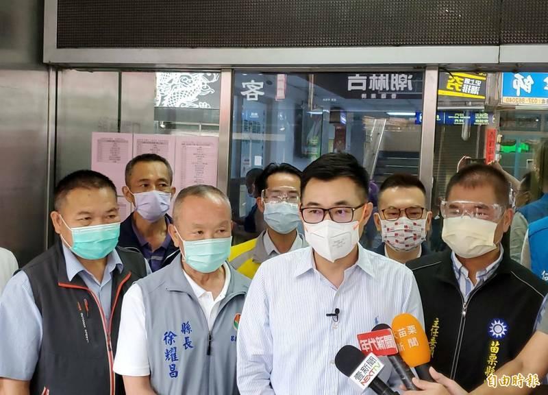 美贈250萬劑疫苗 江啟臣︰國際社會聽到台灣人民聲音 - 政治 - 自由