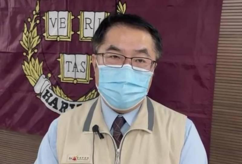 美國捐贈的250萬劑莫德納疫苗抵台,台南市長黃偉哲感謝之餘,也呼籲符合施打資格的民眾,病毒不等人,不挑廠牌儘速施打。(台南市政府提供)