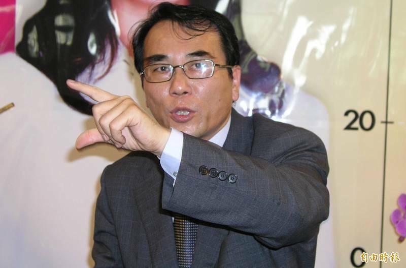 前立法蔡豪(資料照片,記者葉永騫攝)