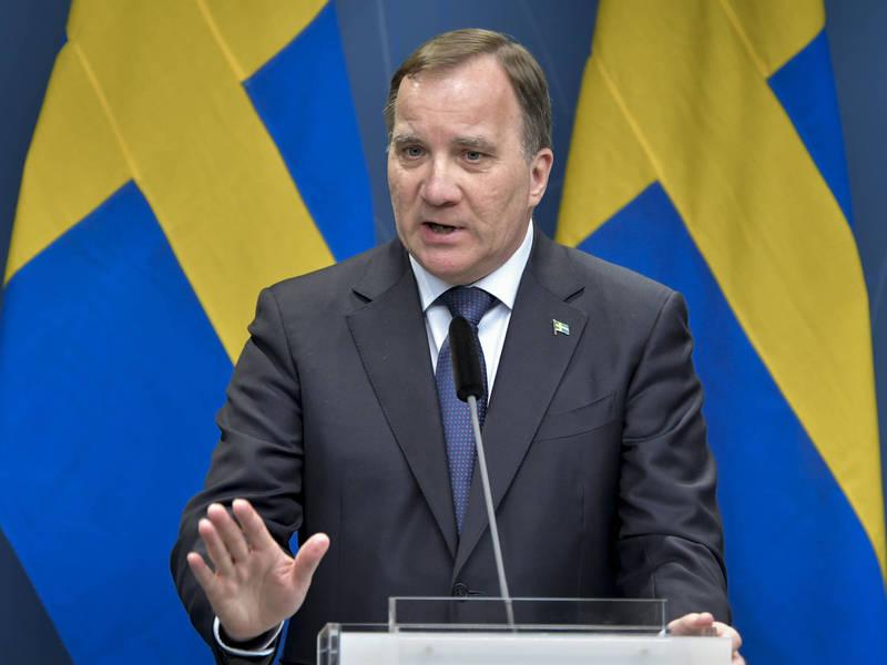 在瑞典國會通過不信任案後,總理羅福文(見圖)必須在一週內辭職。(法新社資料照)