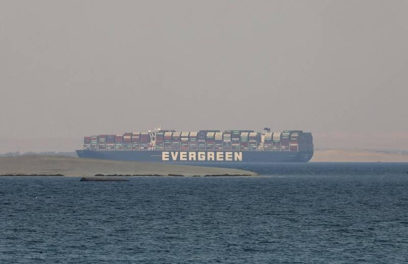 長賜輪船東「正榮汽船」提出新賠償方案,法界人士透露,埃及法院已將此訴訟案判決宣判時間延至7月4日。(美聯社)