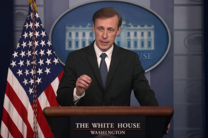 白宮國安顧問蘇利文近日受訪提及「中國若不配合進一步調查病毒起源,將可能面臨國際孤立」。(路透資料照)
