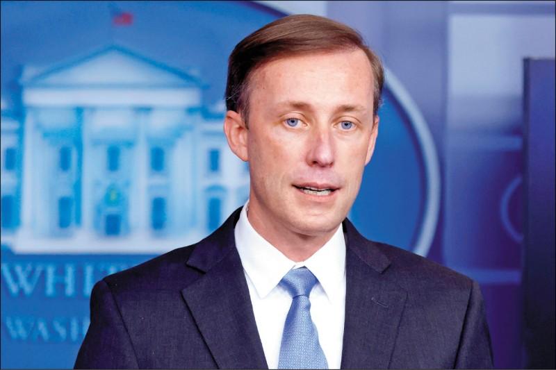 美國國家安全顧問蘇利文促中同意疫情溯源。(路透檔案照)