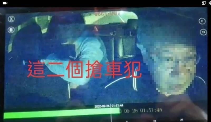 爛醉的潘姓男子毆打謝姓運將(右),同行吳嫌搶車,2人國道酒駕隨後雙雙被逮。(資料照)