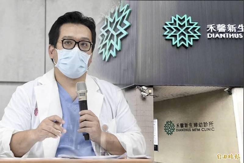 禾馨醫療執行長林思宏質疑北市府是為罰而罰。(本報合成)