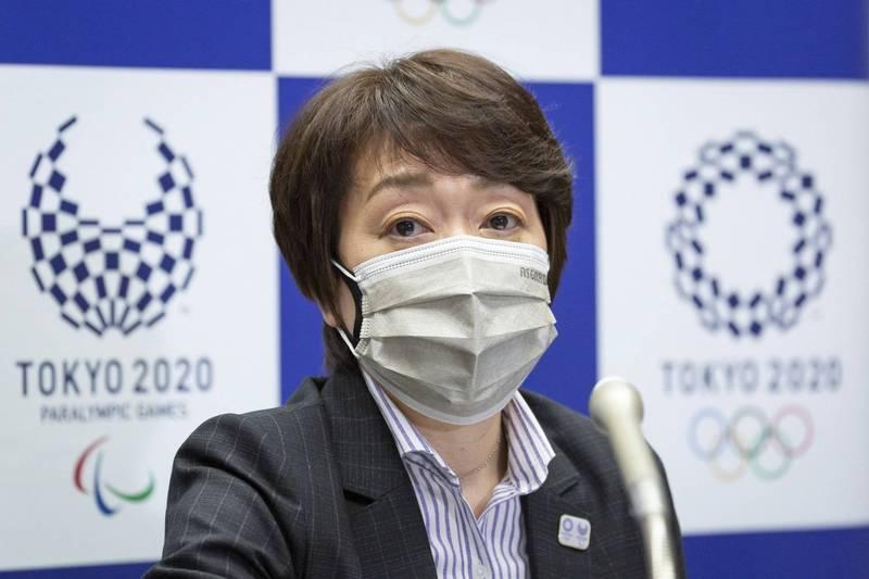 橋本聖子為現任東奧組委主席。(歐新社)