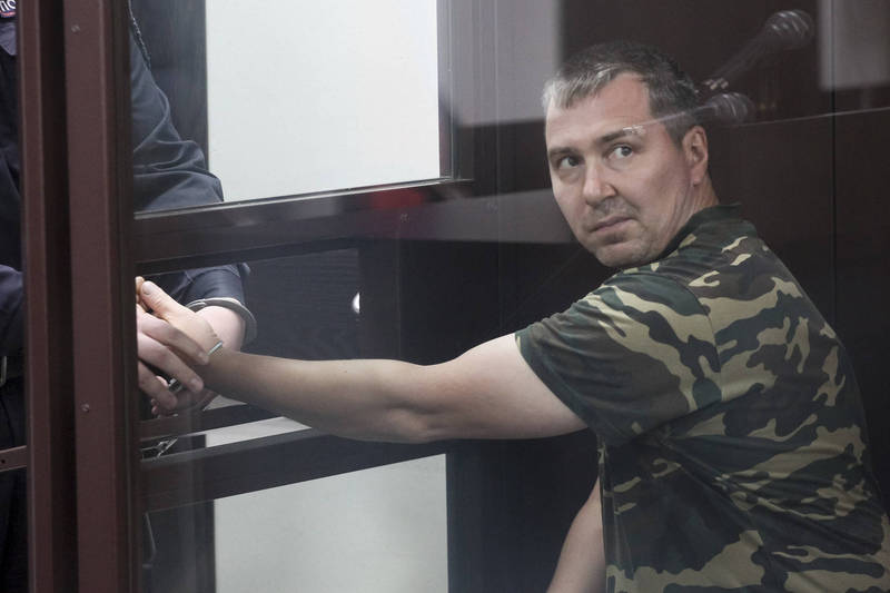 43歲男嫌波波夫(見圖)性侵並殺害34歲女子塞魯。(美聯社)