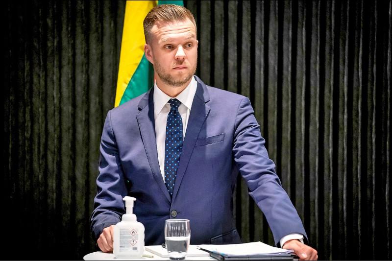 立陶宛外交部長藍斯柏吉斯。(路透檔案照)