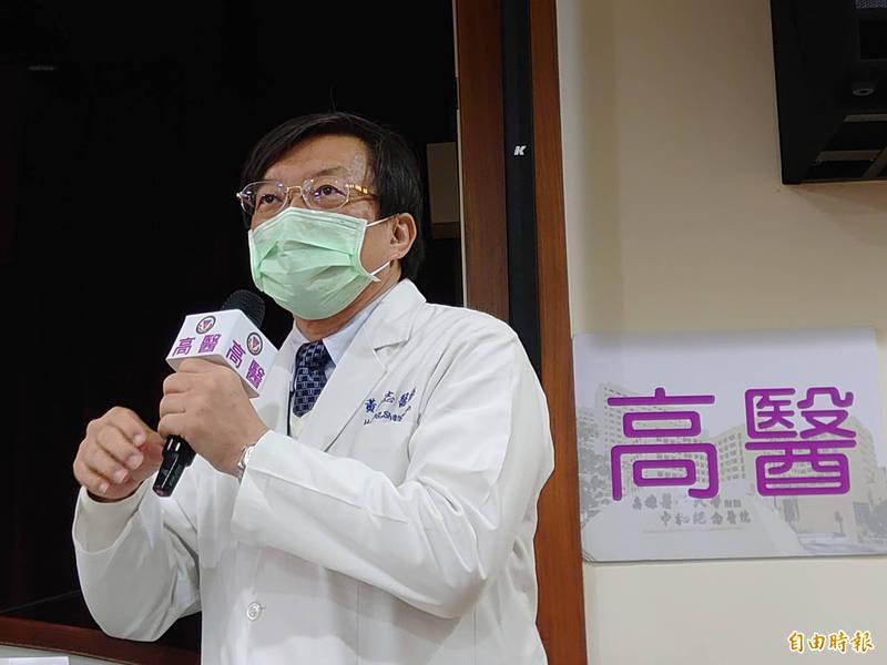 高醫腎臟內科主治醫師黃尚志表示,洗腎患者免疫力低、感染風險高,一旦感染會導致洗腎室的群聚問題,仍建議一定要接種疫苗。(資料照)