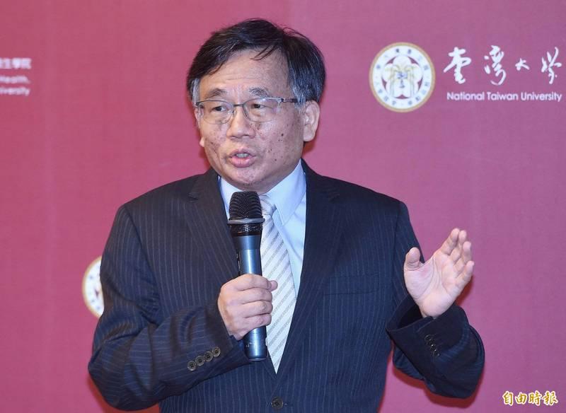 台灣大學公衛學院教授陳秀熙。(資料照)