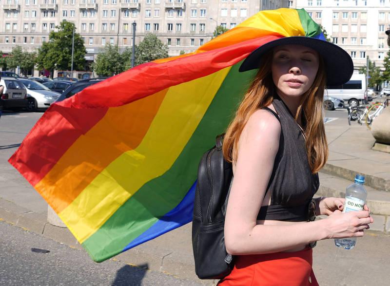 波蘭教育部長恰內克說,「多元性向(LGBT)」平等權利遊行是「有辱公共道德的」,他也質疑「參與者是否正常」。(美聯社)