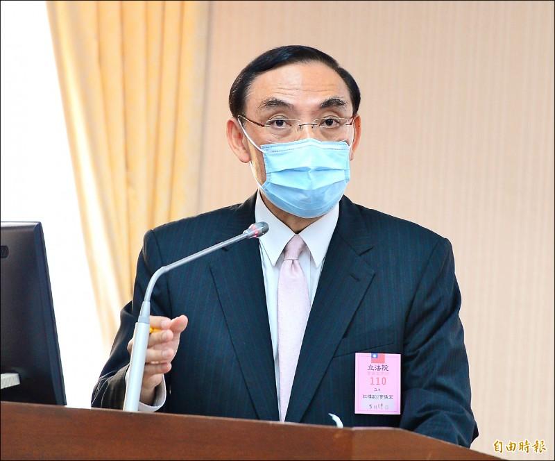 法務部長蔡清祥曾在上月公開要求,檢察長要核實檢察官的考績。(資料照,記者王藝菘攝)