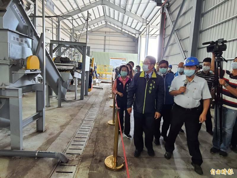 台南市政府在環保署支持下,於安南區、新化區新設2座高速廚餘發酵廠。(資料照)
