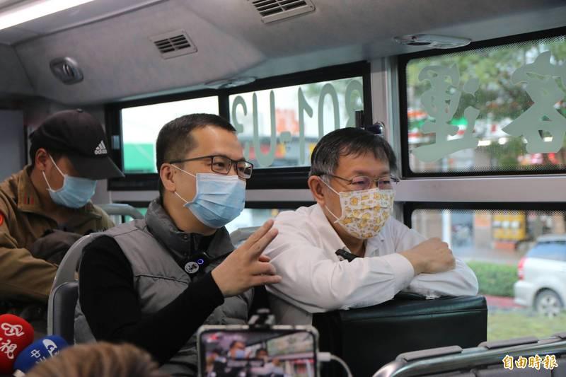 加拿大約克大學副教授沈榮欽今(24日)在臉書點出「台灣的悲哀」是「內有柯文哲(右),外有羅智強(左)」。(資料照)