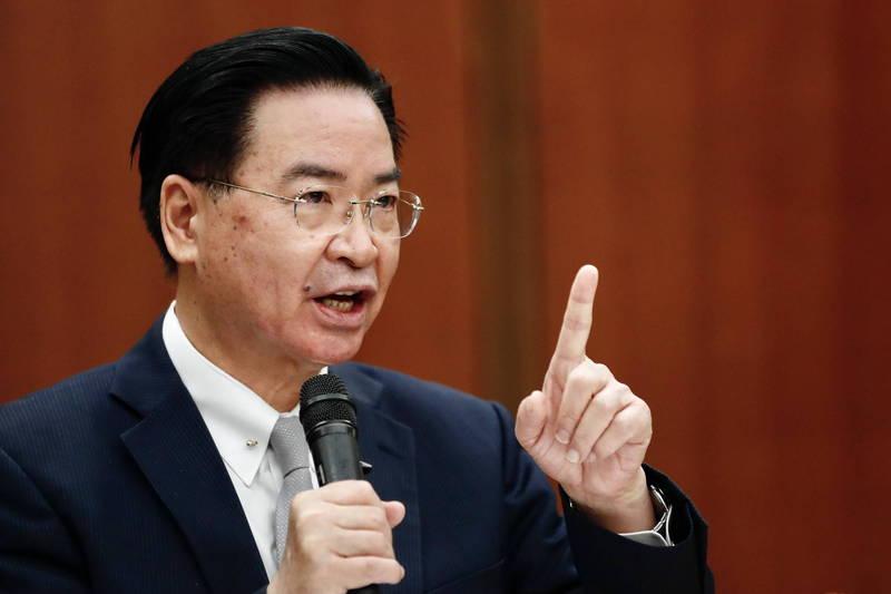 外交部長吳釗燮今(24日)接受美國《有線電視新聞網》(CNN)專訪,吳釗燮說,「如果中國想對台灣發動戰爭,就必須付出一定的代價」。(歐新社檔案照)