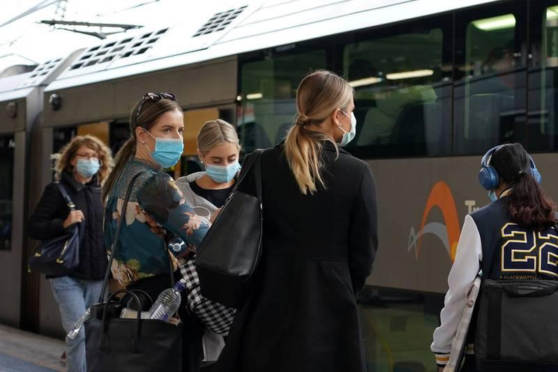 澳洲雪梨疫情恐有爆發風險。(路透)