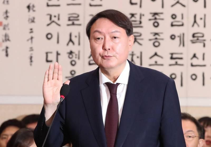 南韓前檢察總長尹錫悅。(歐新社)