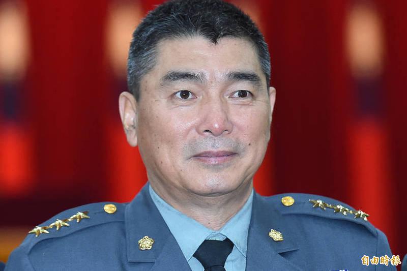 國防部今晚表示,總統今日核定上將人事案,陸軍司令陳寶餘上將將升任參謀總長。(資料照)