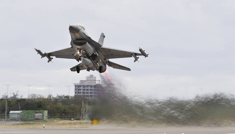 The US State Department agreed to sell the Philippine F-16 fighter jets and other military weapons.  (Associated Press)