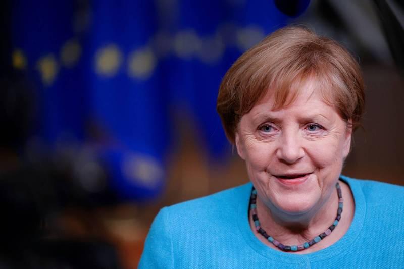 66岁的德国总理梅克尔(Angela Merkel)4月16日接种第1剂阿斯特捷利康(AstraZeneca)武汉肺炎疫苗,最近施打第2剂莫德纳(Moderna)疫苗。(路透资料照)(photo:LTN)
