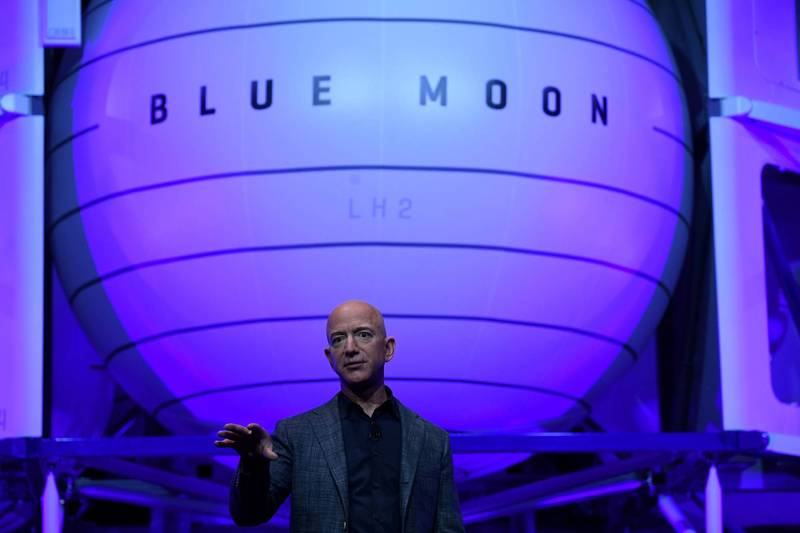 Bezos, the richest man in the world, will go to space next month.  (Reuters)
