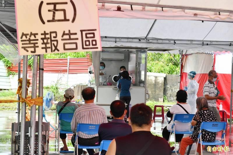 Delta病毒正式進入台灣社區。(記者蔡宗憲攝)