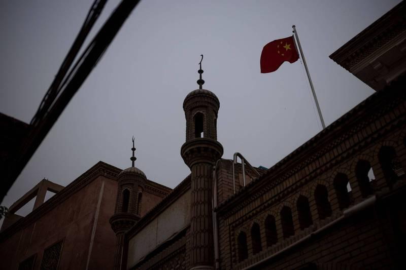 中國迫害新疆維吾爾等少數民族人權,引發國際關注。(路透資料照)