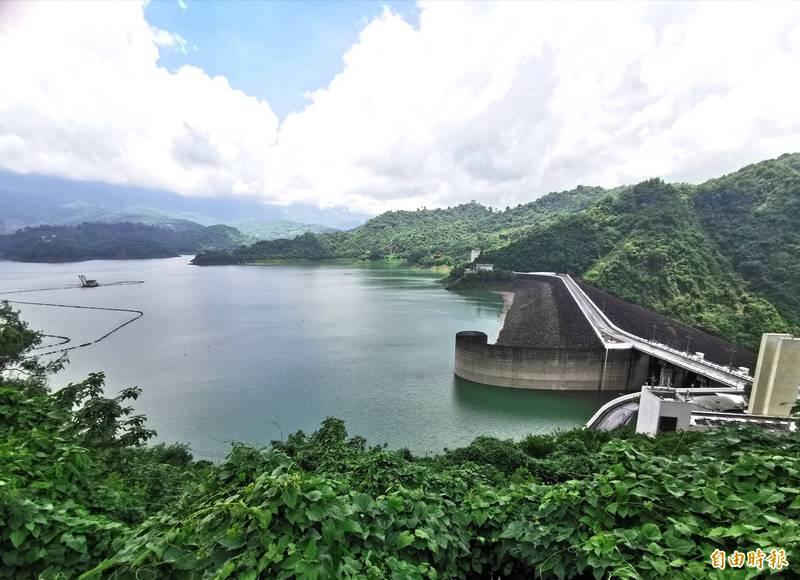 曾文水庫蓄水率已突破5成2,二期作將全區供灌。(記者吳俊鋒攝)