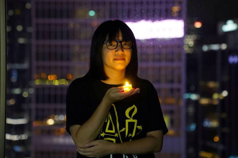 香港支聯會副主席鄒幸彤6月30日再遭警方逮捕。(路透檔案照)