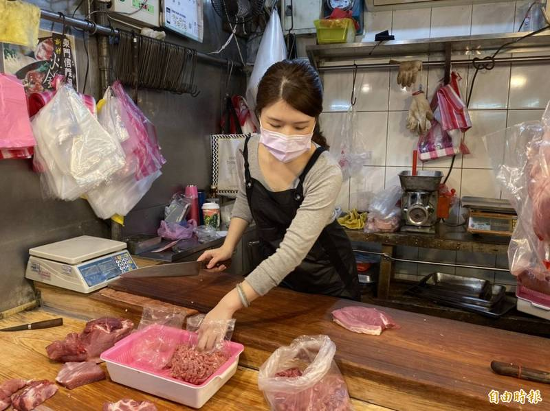 「豬肉公主」張采婕(見圖)透過臉書聲援,認為林昶佐相當關心市場活動,還貼出公文證明。(資料照)