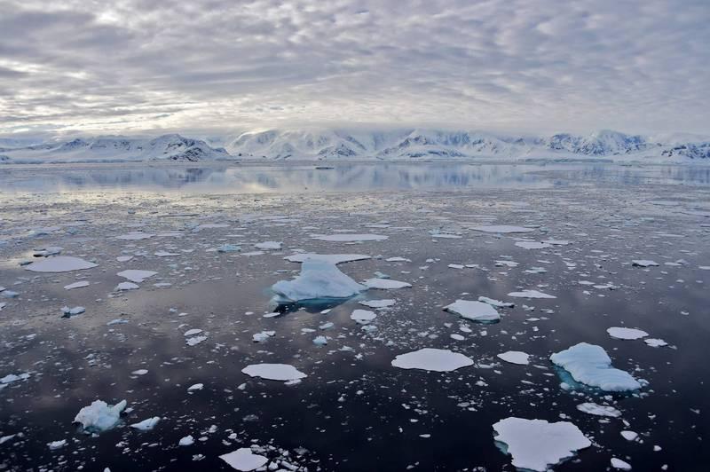 聯合國世界氣象組織(WMO)週四確認,南極大陸創下新的高溫紀錄,在南半球夏季時測得18.3℃度高溫。(法新社檔案照)