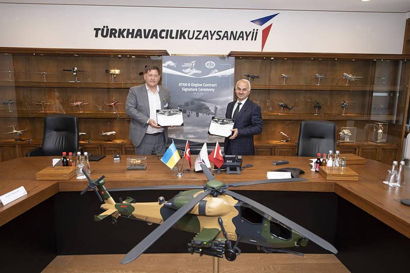 「土耳其航太工業」公司(TAI)確定和烏克蘭「Motor Sich」公司簽訂合約,後者於2022年將先交付2具發動機,預計原型機在2023年便能進行首飛。(翻攝自TAI官網)