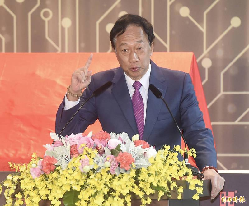 郭台銘發表書面聲明,國際媒體複雜化內情的臆測報導,反而妨害台灣取得疫苗的時程。(資料照)