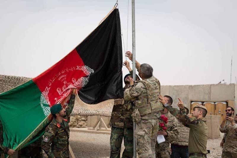 美軍持續進行撤兵作業,阿富汗極端組織也積極擴大勢力範圍。(美聯社)