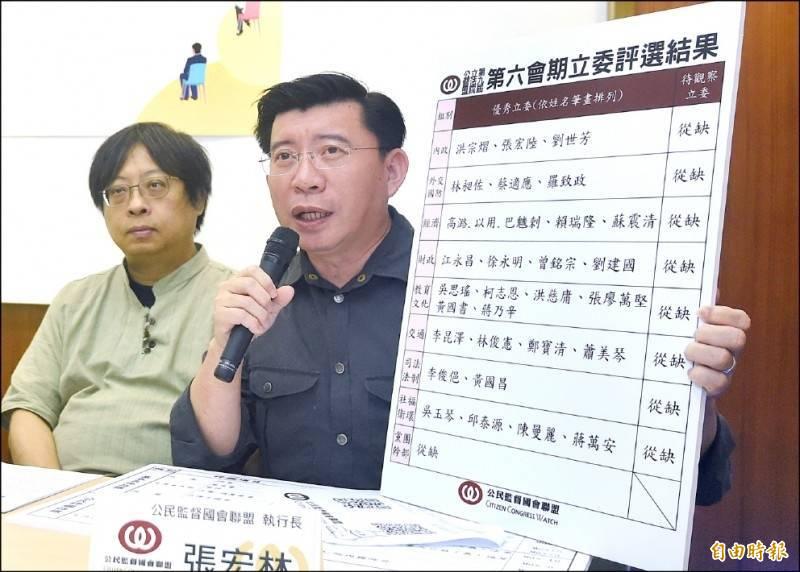 公督盟執行長張宏林(右)。(資料照)