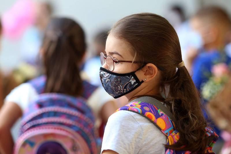 英國一項報告指出,自武漢肺炎流行以來,兒童染疫致死風險相當低。示意圖,非當事人。(法新社)