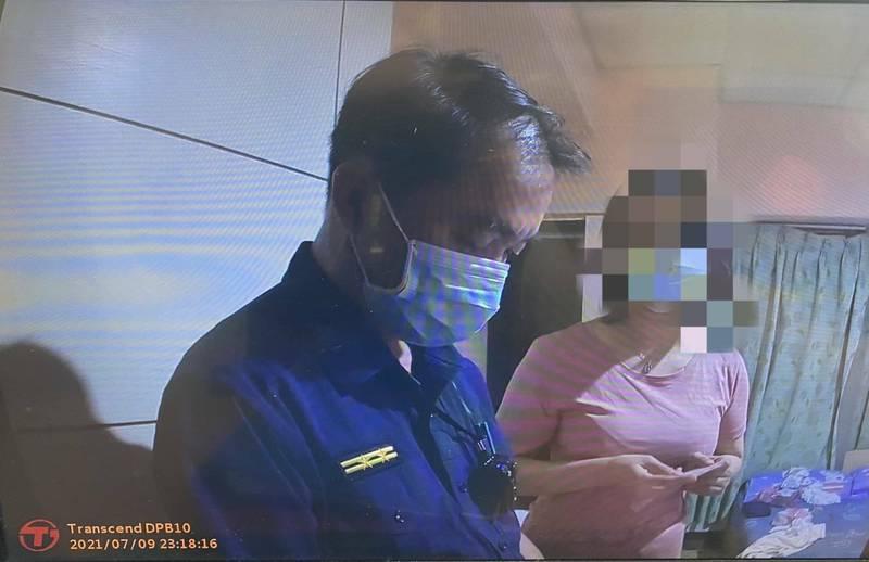 年近40的程姓女子,從新北來台南賣淫。(民眾提供)